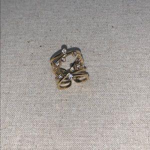 Stella and Dot Gold Ring